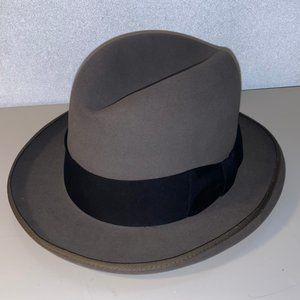 Vintage Royal De Luxe Stetson Hat 7 1/8
